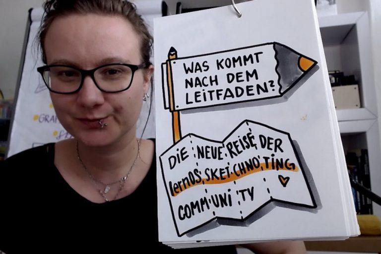 Katha Bluhm bei ihrem Lightning Talk